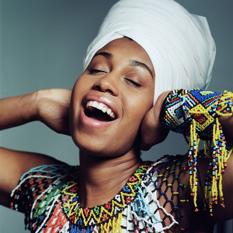 Jazzmeia Horn (photo by Jacob Blickenstaff)