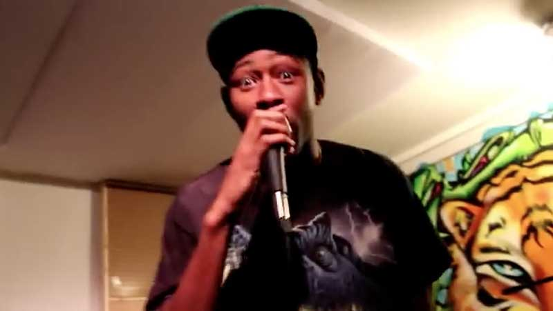 Tyler, the Creator (from BBNG viral video in 2011)