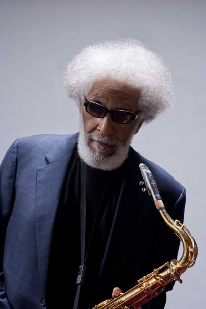 Sonny Rollins (photo by John Abbott)