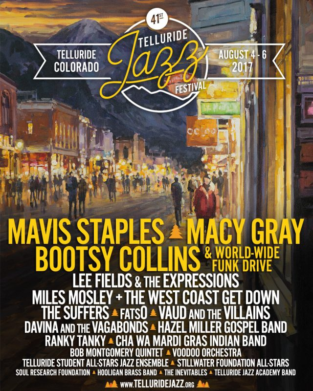 Telluride Jazz Festival Poster