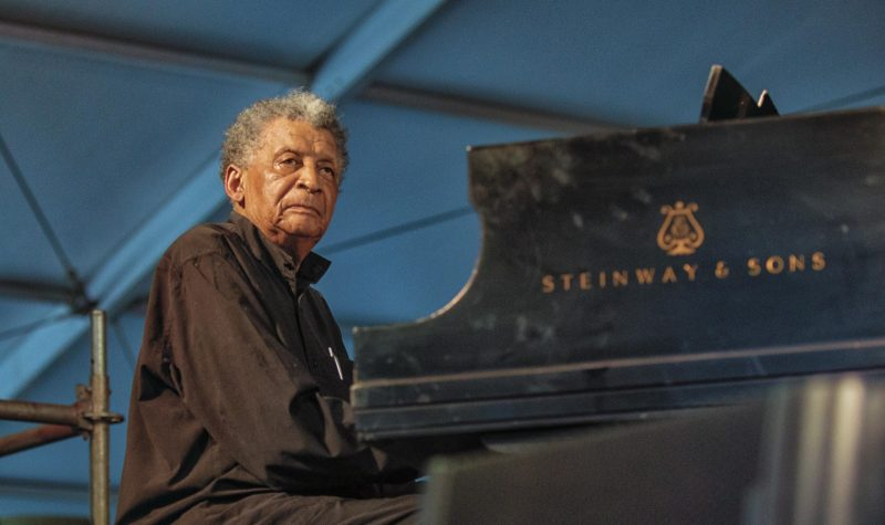Abdullah Ibrahim (photo by Mark Robbins)