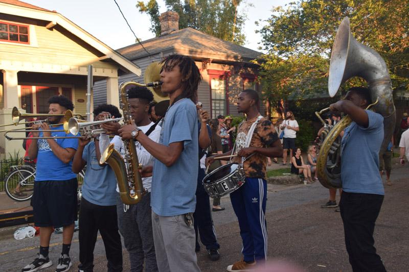 Brass Band (photo by Joel A. Siegel)