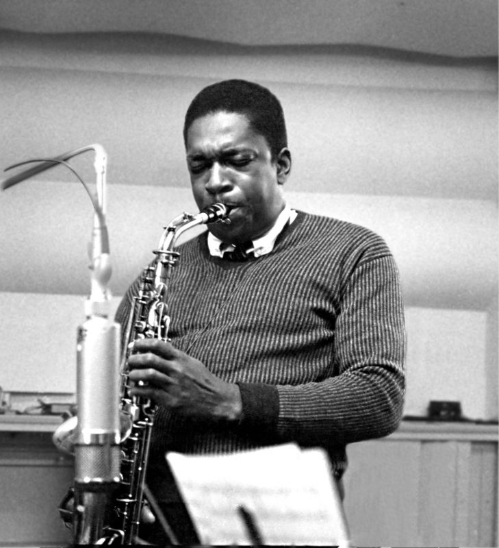 John Coltrane (photo by Esmond Edwards)