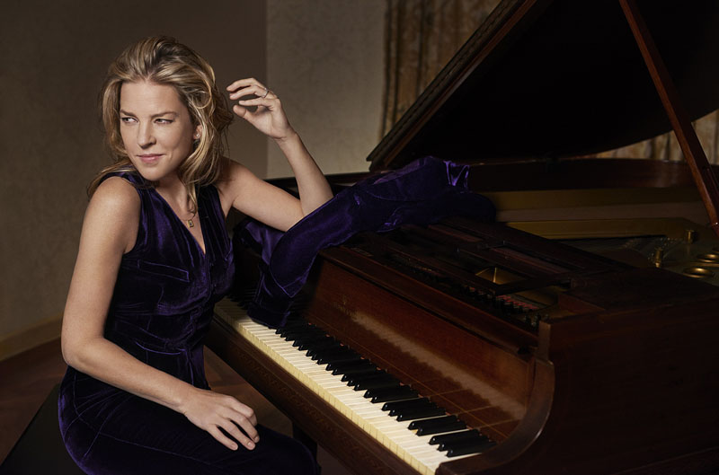 Diana Krall for Turn Up the Quiet album (photo by Mary McCartney)