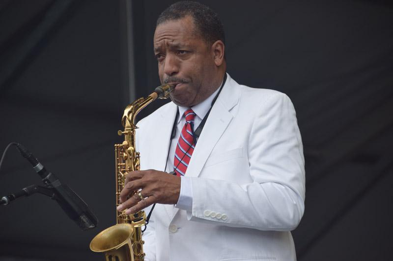 Donald Harrison (photo by Joel A. Siegel)