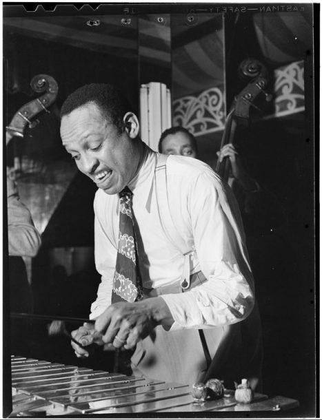 Lionel Hampton in 1946 (William P. Gottlieb/courtesy of the Library of Congress)