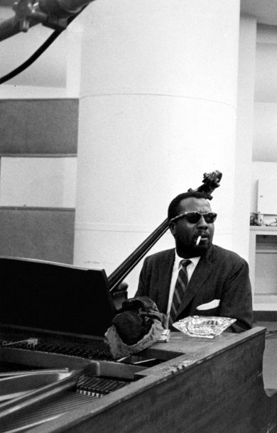 Thelonious Monk (photo by Bob Parent)