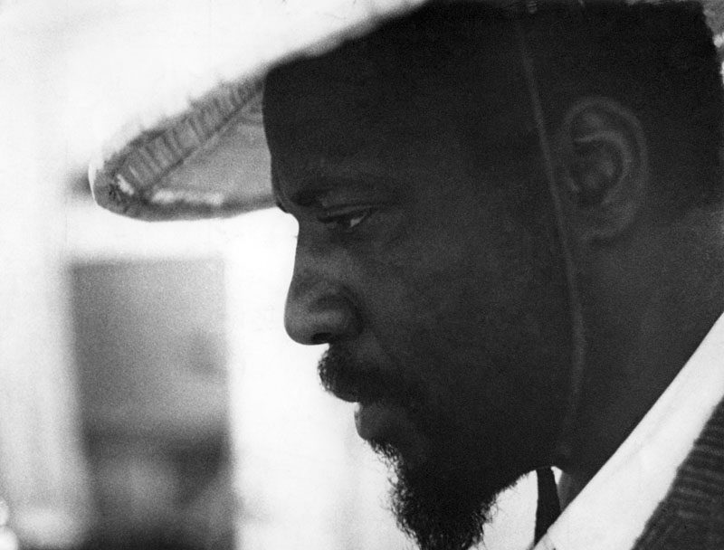 Thelonious Monk (photo courtesy of Arnaud Boubet/Private Collection)