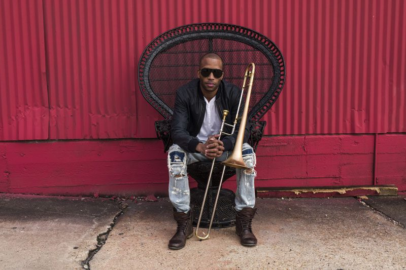 """I'm married to [New Orleans],"" says Trombone Shorty. ""Everything I do is because of the city."" (photo by Mathieu Bitton)"