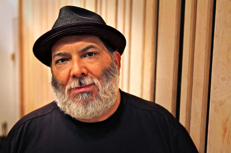 Poncho Sanchez (photo by Ashley Stagg)