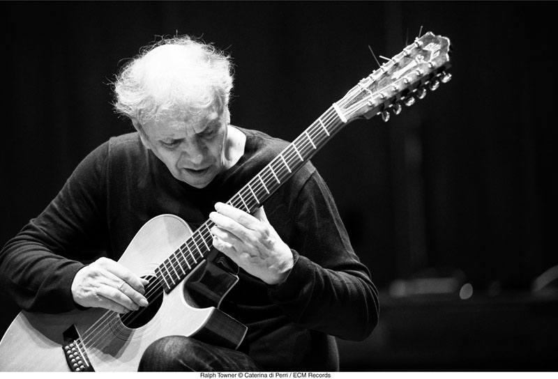Ralph Towner (photo by Caterina Di Perri/courtesy of ECM Records)