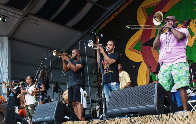 Rebirth Brass Band (photo by Mark Robbins)