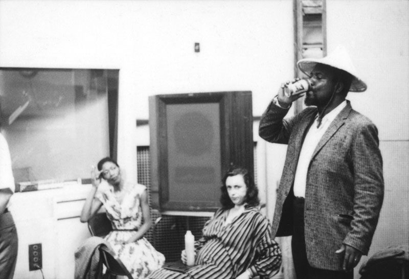 Thelonious Monk with his wife, Nellie, and his patron, the Baroness Pannonica de Koenigswarter (from left) in 1959 (photo courtesy of Arnaud Boubet/Private Collection)