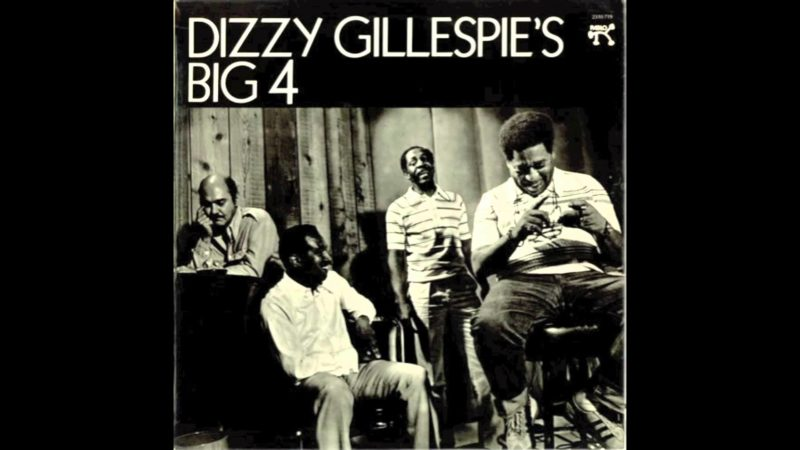 """Dizzy Gillespie's Big 4"" (Joe Pass, Ray Brown, Mickey Roker, Dizzy Gillespie)"