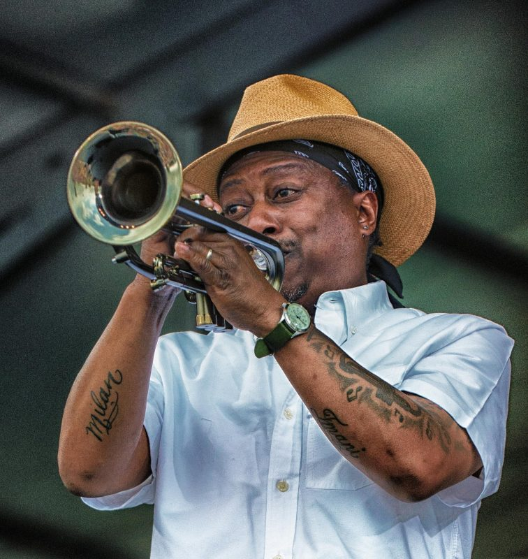 Kermit Ruffins (photo by Mark Robbins)