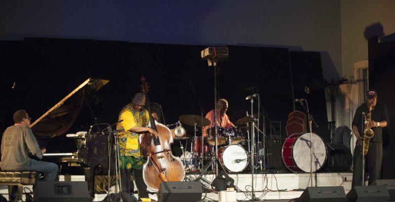 Matthew Shipp, William Parker, Michael TA Thompson and Joe McPhee, from left (photo by Marek Lazarski)