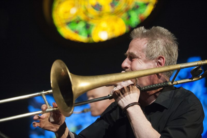 Steve Swell (photo by Marek Lazarski)