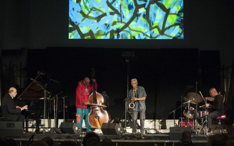 Dave Burrell Quartet, from left: Burrell, William Parker, Kidd Jordan and William Hooker (photo by Marek Lazarski)