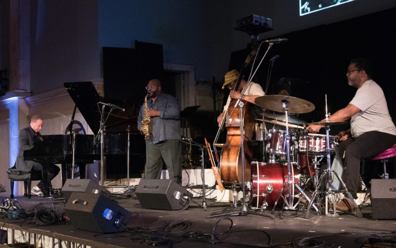 Farmers by Nature, from left: Craig Taborn, Darius Jones, William Parker and Gerald Cleaver (photo by Marek Lazarski)