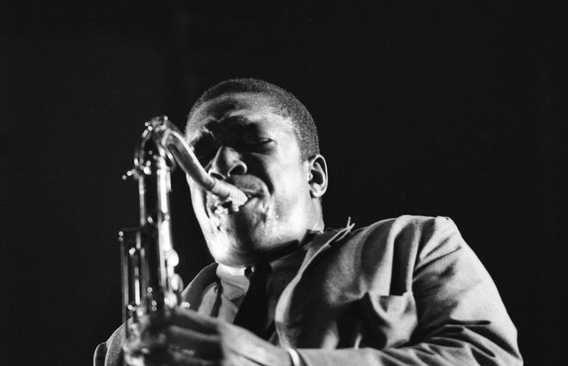 John Coltrane (photo by Don Schlitten)