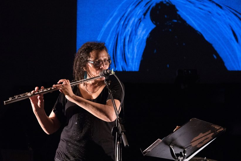 Photo of Nicole Mitchell, artist-in-residence at the 2018 Winter Jazzfest