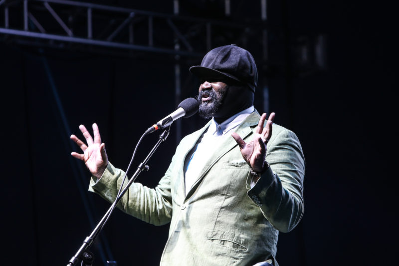 Gregory Porter at DC JazzFest at the Yards (Photo by Jati Lindsay)