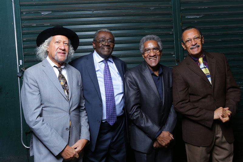 Heads of State, from left: Gary Bartz, Larry Willis, Al Foster and David Williams (photo by John Abbott)