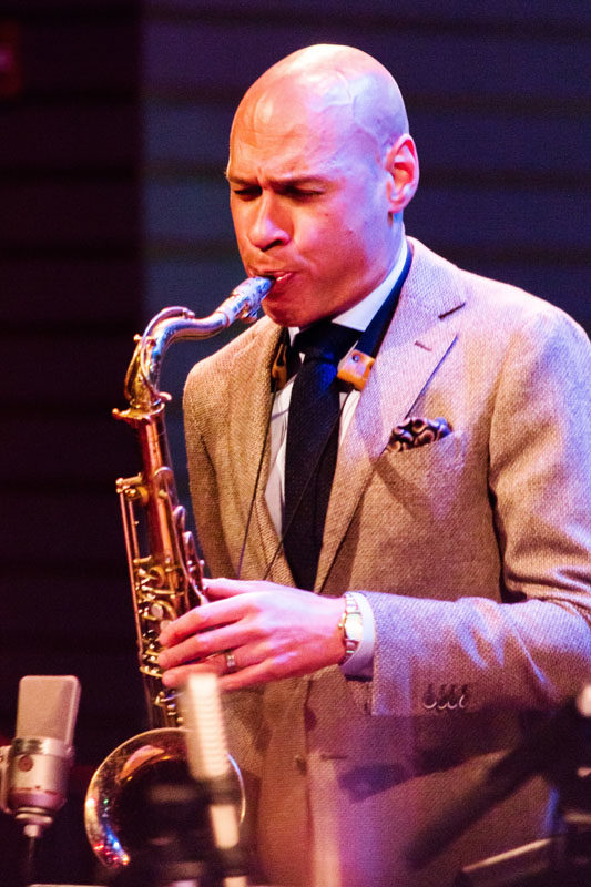 Joshua Redman at Jazz at Lincoln Center (photo by Lawrence Sumulong/Jazz at Lincoln Center
