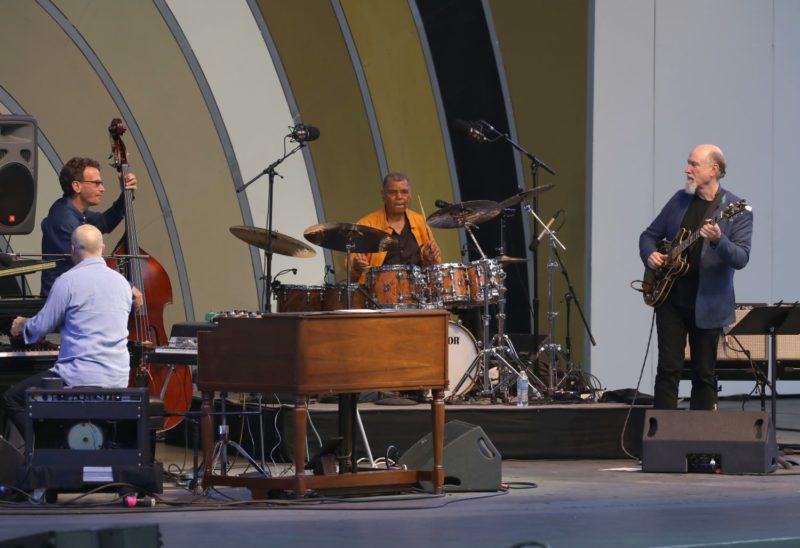 Hudson, from left: John Medeski, Larry Grenadier, Jack DeJohnette and John Scofield (photo by Mathew Imaging)