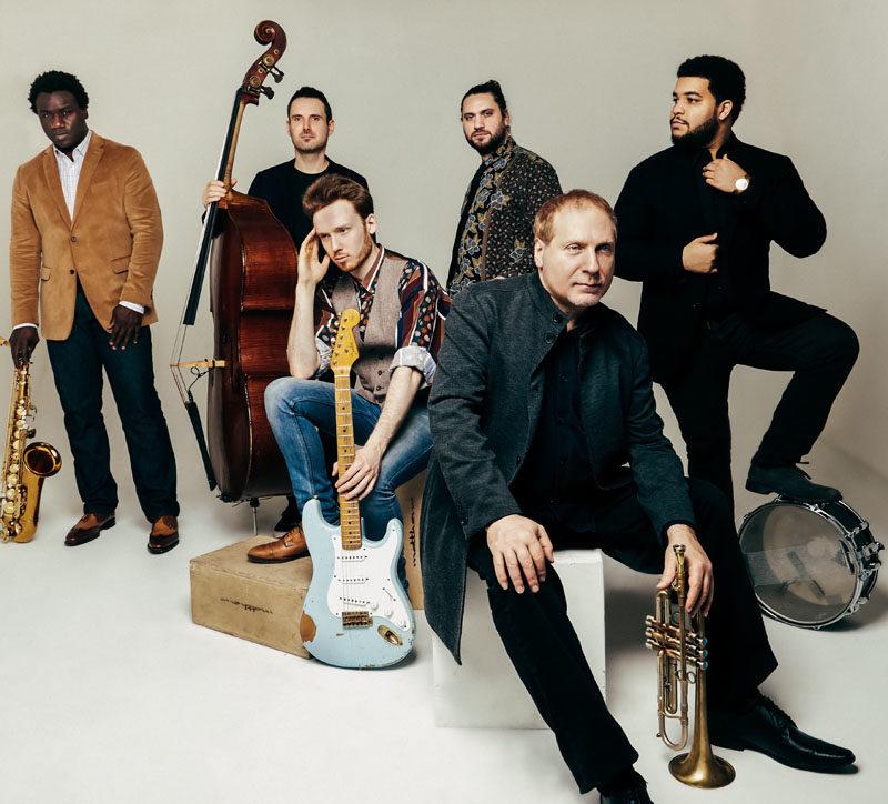 From left: David Weiss (front) with Myron Walden, Matt Clohesy, Ben Eunson, Travis Reuter and Kush Abadey (photo by Deneka Peniston)