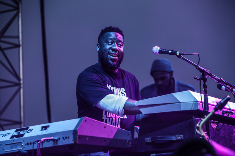 Robert Glasper at the 2017 DC JazzFest (Photo by Jati Lindsay)