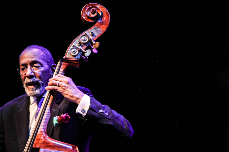 Ron Carter at the Howard Theatre (Photo by Jati Lindsay)