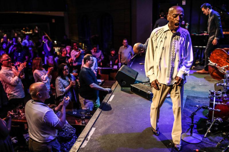 Roy Haynes at the Howard Theatre (Photo by Jati Lindsay)