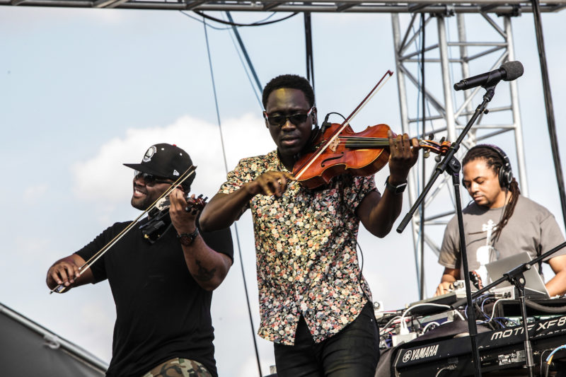 Black Violin performs at DC JazzFest at the Yards (Photo by Jati Lindsay)