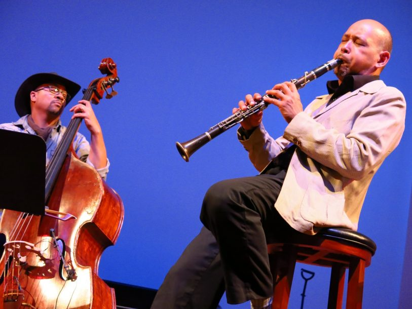 From left: Roland Guerin, Evan Christopher (photo by Perry Tannenbaum)