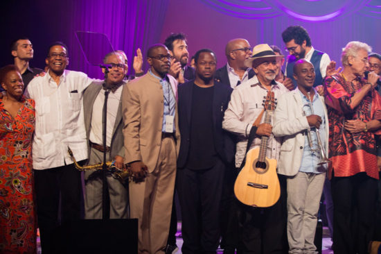 An all-star lineup celebrates International Jazz Day in Havana in April (photo by Steve Mundinger/Monk Institute)