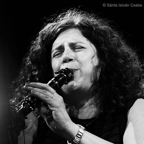 Anat Cohen (photo by Sánta István Csaba)