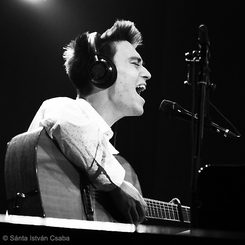 Jacob Collier (photo by Sánta István Csaba)
