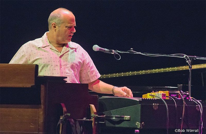 John Medeski performs with Hudson (photo by Bob Worrall)