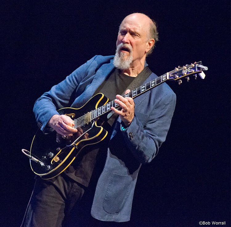 John Scofield performs with Hudson (photo by Bob Worrall)