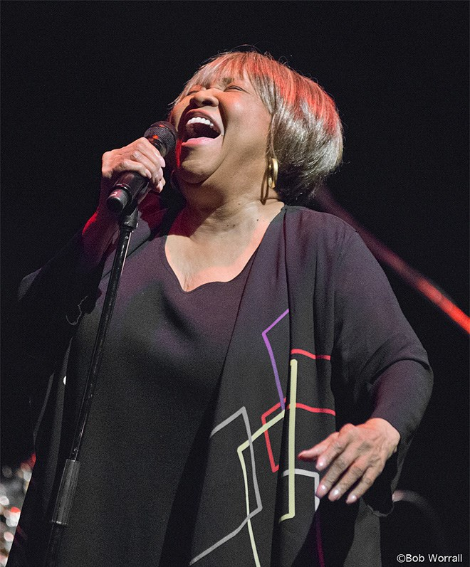 Mavis Staples (photo by Bob Worrall)