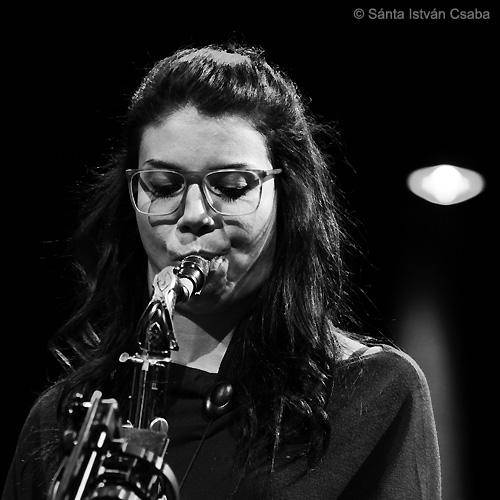 Melissa Aldana (photo by Sánta István Csaba)