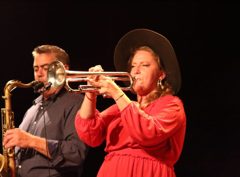 André Leroux and Rachel Therrien (photo by Sharonne Cohen)