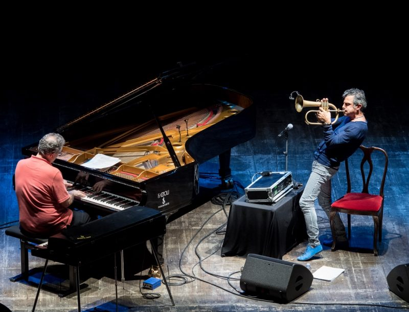 From left: Uri Caine and Paolo Fresu (photo by Tim Dickeson)