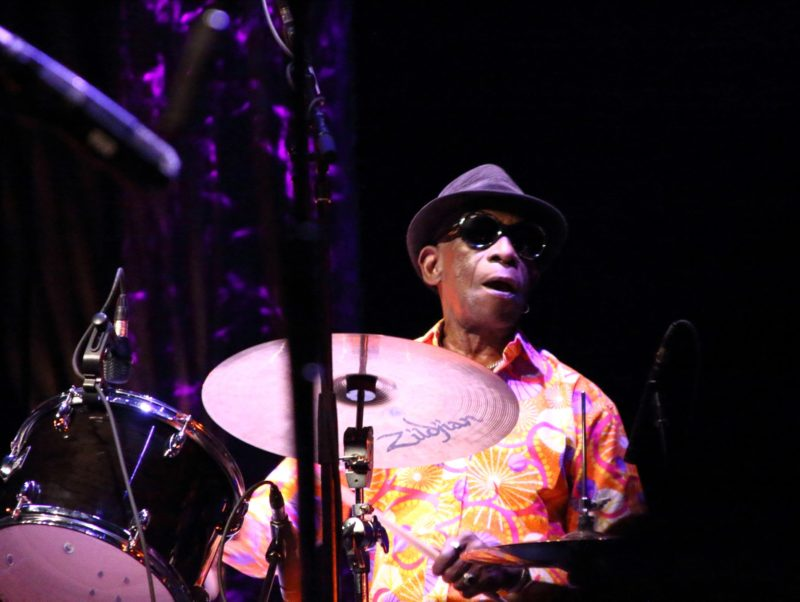 Tony Allen (photo by Sharonne Cohen)