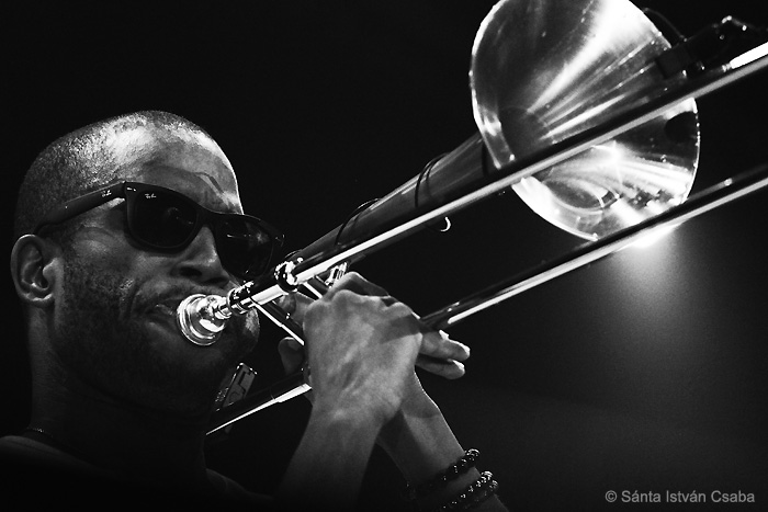 Trombone Shorty (photo by Sánta István Csaba)