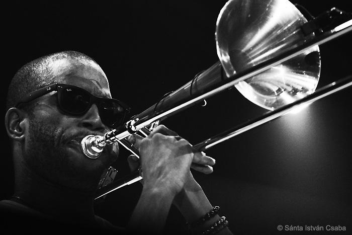 Trombone Shorty (photo by Sánta István Csaba)