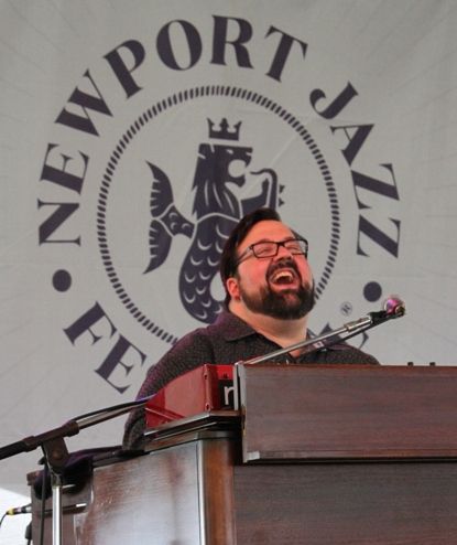 Hammond B-3 organ player Joey DeFrancesco performed with his band, The People, at the 2017 Newport Jazz Festival on Friday, August 4, 2017.
