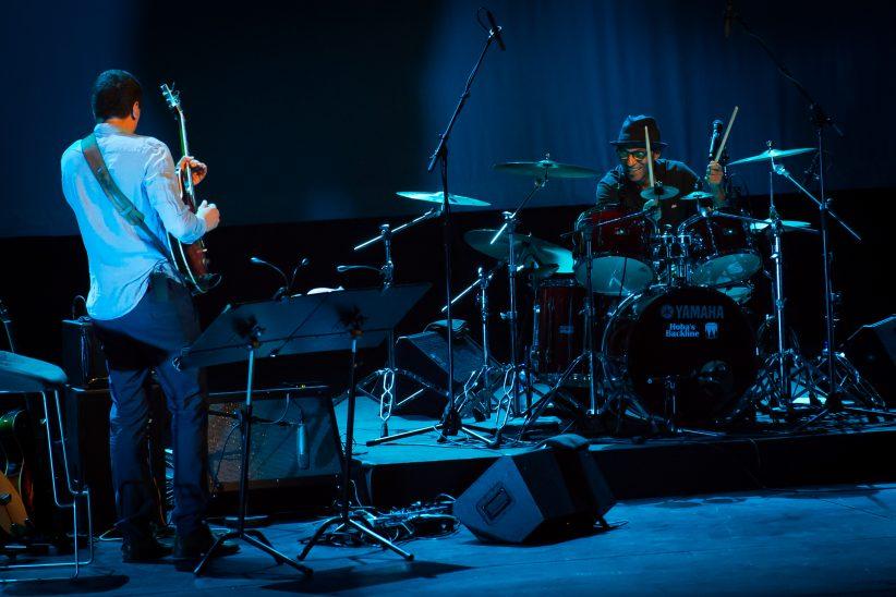 Photo of Manu Katche at 2017 Oslo Jazz Festival