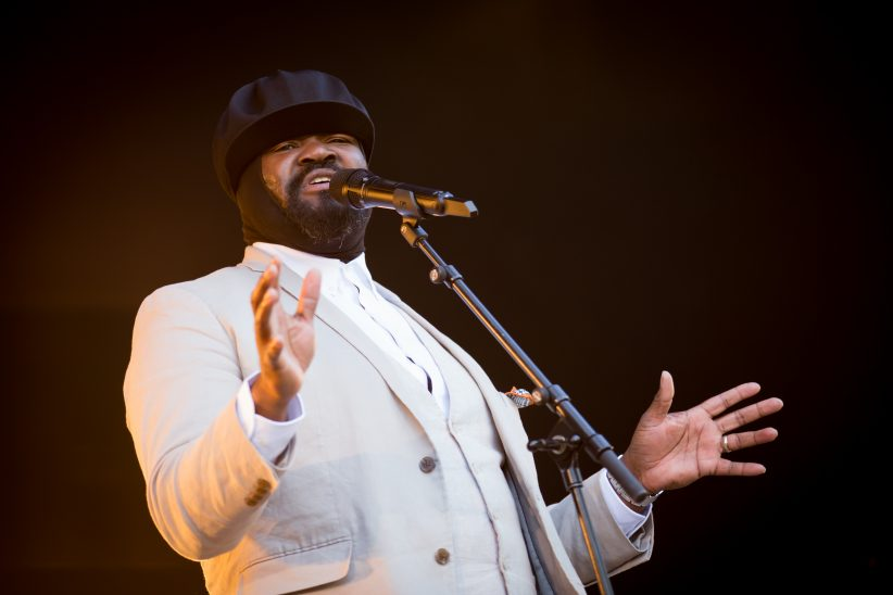 Photo of Gregory Porter at the 2017 Oslo Jazz Festival